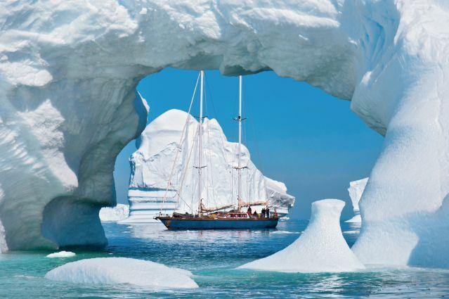 Faune et glaces de l'Antarctique - Vaihere - Le Vaihéré au large de la péninsule Antarctique