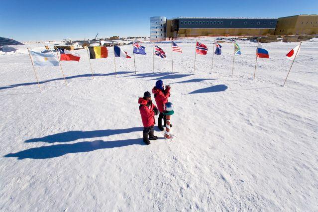 Voyage Antarctique : vol jusqu'au pôle Sud