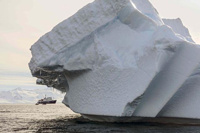 Le Plancius en terre de Graham - Antarctique
