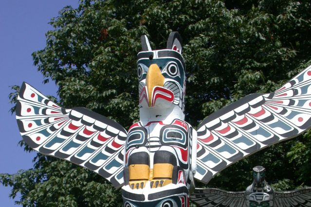 Totem - Rocheuses - Canada