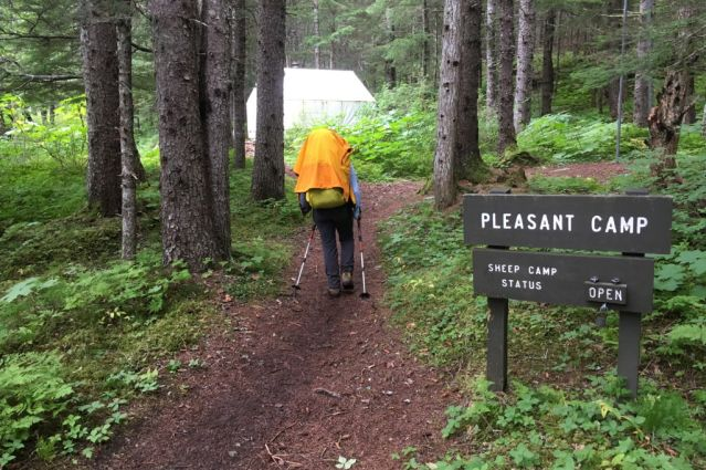 Campement de pleasant  - Alaska