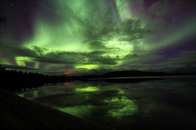 Lac d Inari - Finlande
