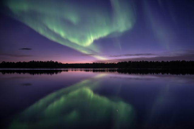 Voyage Aurores boréales de Laponie