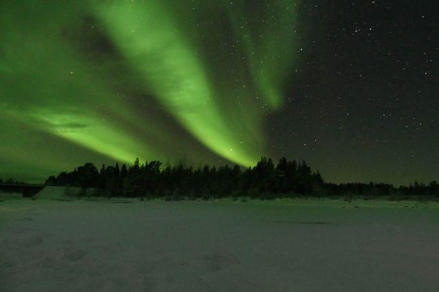 Aurores boréales - Région du lac Inari - Finlande