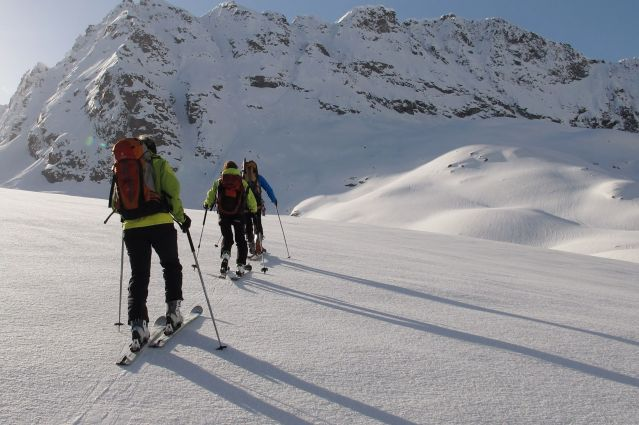 Voyage Glaciers de Haute Maurienne à ski