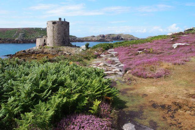 Château de Cromwell - Île de Tresco - Îles Scilly - Royaume-Uni