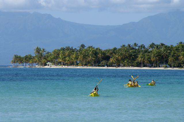 La guadeloupe en kayak - Sainte anne guadeloupe office du tourisme ...