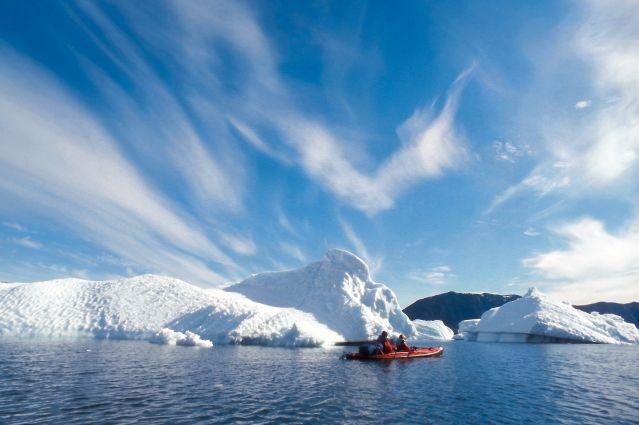 La baie de Disko en kayak