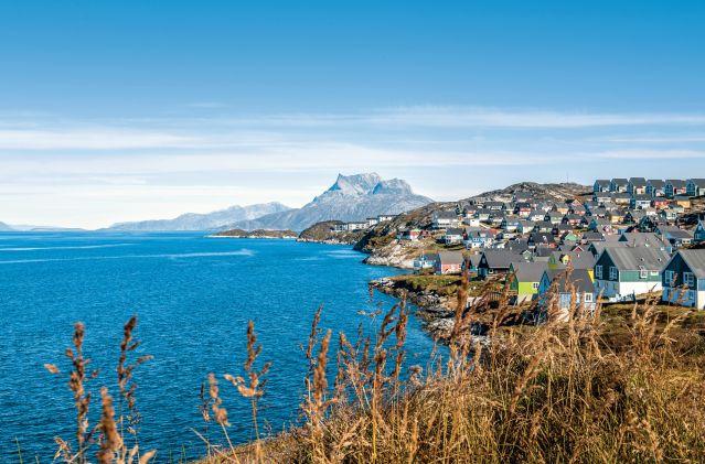 Le village d Uummannaq - Groenland