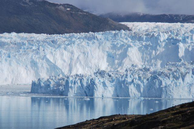 Le Glacier Eqi dans la Baie de Disko - Groenland