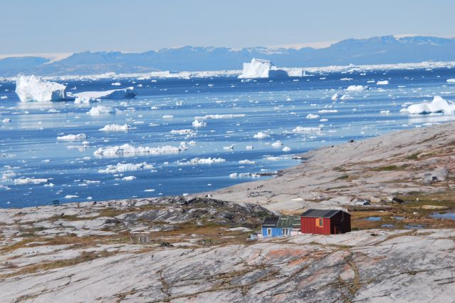 Village d Oqaatsut - Groenland