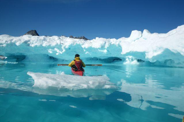 © Kayak et banquise de la côte est - Groenland - Yann Lemoine