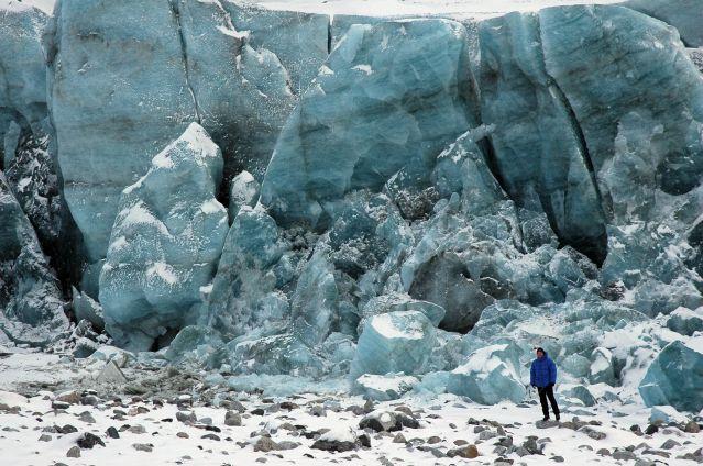 Le glacier Russell - Région de Kangerlussuaq - Groenland