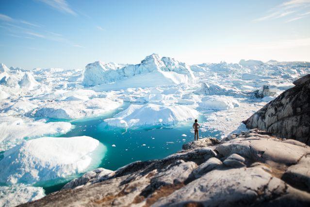 Près d Ilulissat - Groenland
