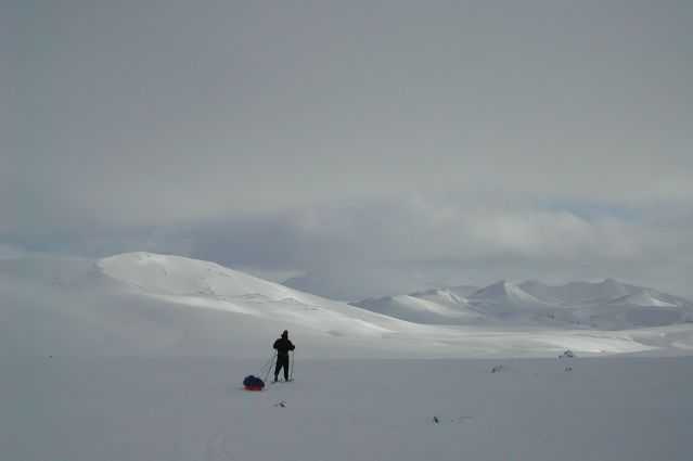 Randonnée à ski en Islande
