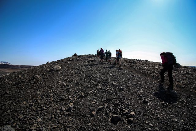 Cratère - Myvatn - Islande