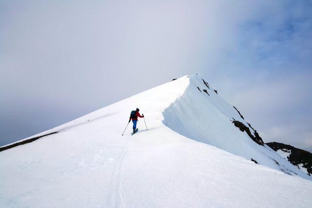 Ski de randonnée - isafjordur - Islande