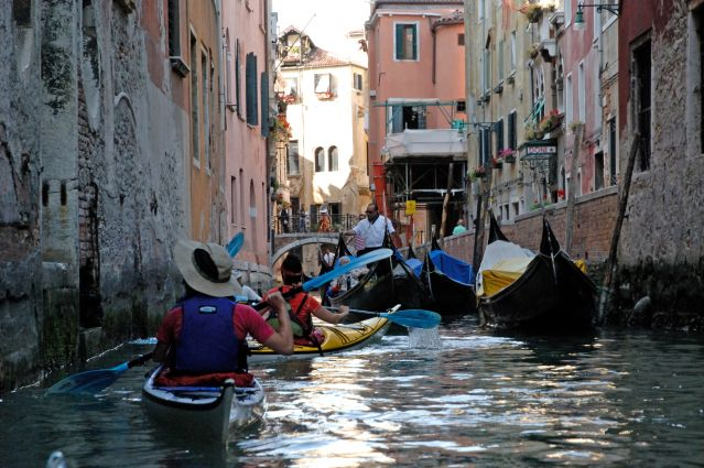 © Paul Villecourt - Kayak à Venise - Italie