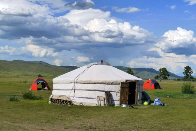 Campement - Parc national de Terelj - Mongolie