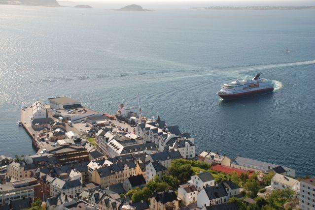 Voyage Express Côtier, la grande navigation