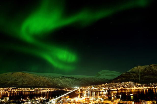 Voyage Escapade hivernale et aurores boréales à Tromsø