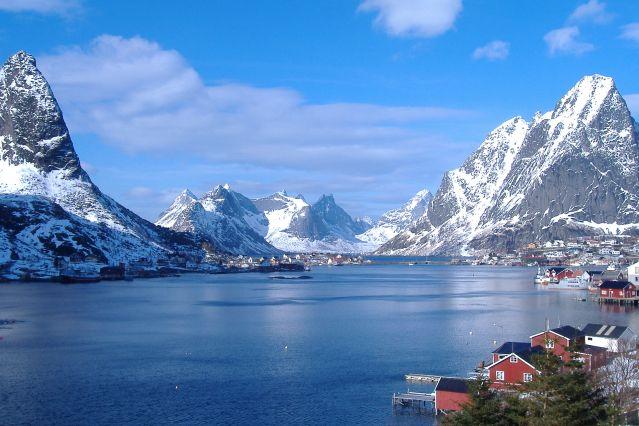 Reinefjord - Lofoten - Norvège