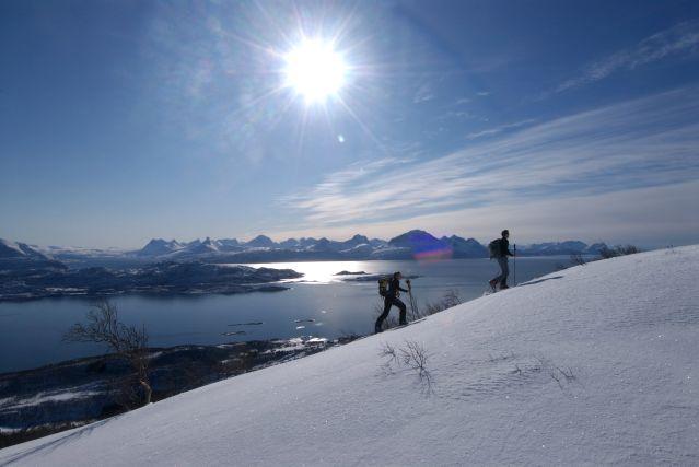 Voyage Ski de rando et voile en Laponie norvégienne