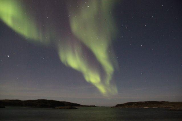 Aurore boréale - Région de Tromso - Norvège