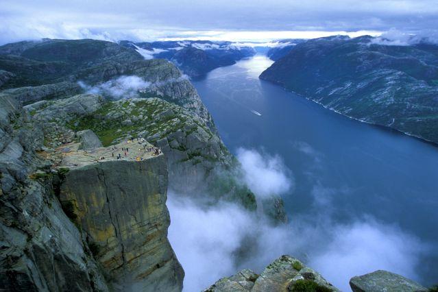 Randonnée au Pulpit Rock - Stavanger - Norvège