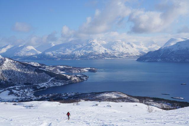 Voyage Randonnée hivernale dans les Alpes de Lyngen