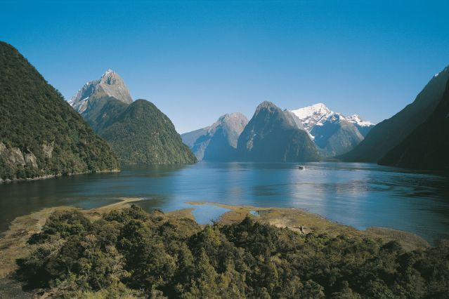 © Real Journeys - Milford Sovereign - Parc national de Fiordland - Milford Sound - Ile du Sud - Nouvelle Zelande