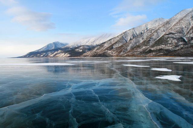 Magie glaciale du lac Baikal