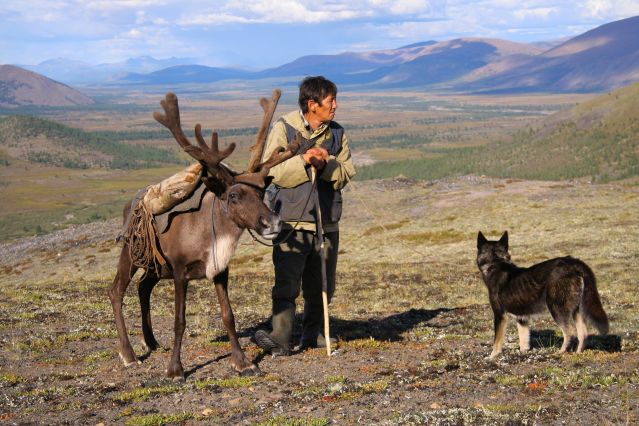 Chez les éleveurs de rennes Evènes - Montagnes de Verkhoiansk - Yakoutie - Sibérie - Russie