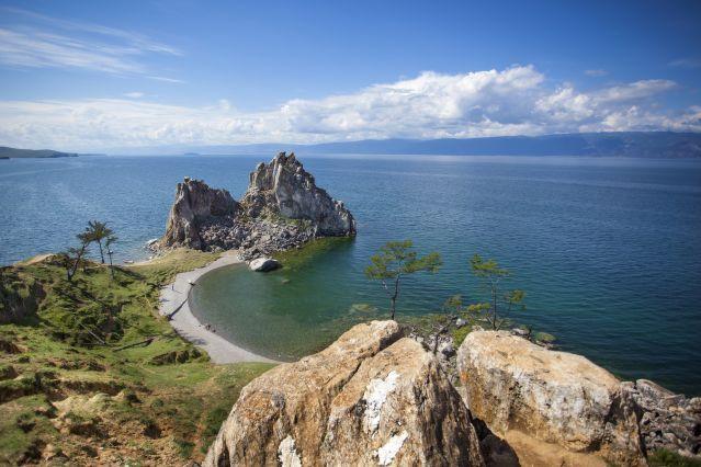 Cap sur le lac Baïkal - Russie