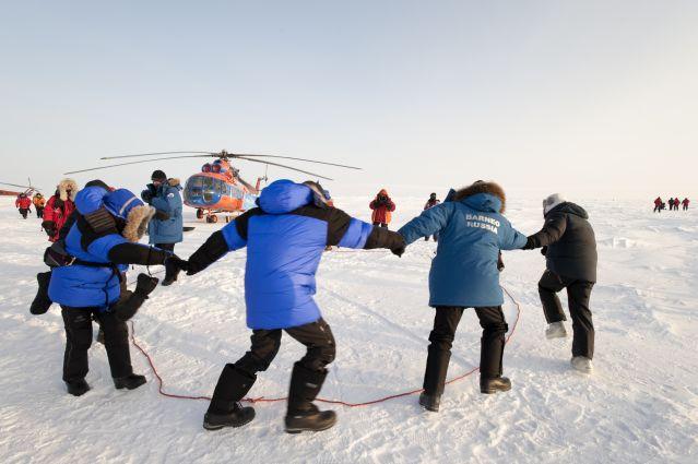 La base polaire de Barnéo - Pôle Nord