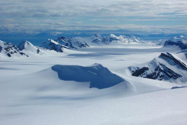 Glacier du Spitzberg - Norvège