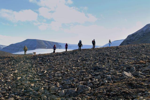 Randonnée au Spitzberg - Norvège