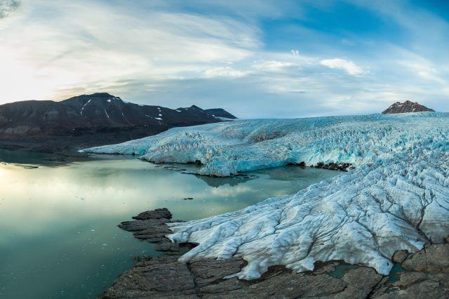Glacier de Nordeskjold - Spitzberg - Norvège