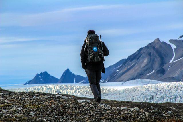 Voyage Rando et cabotage au printemps arctique
