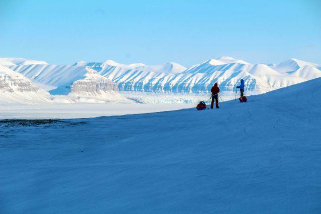 Voyage Raid à ski et pulka aux portes du pôle Nord