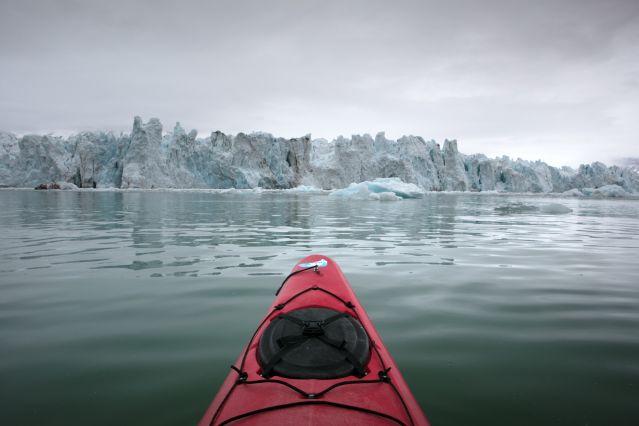 Voyage Fjords et glaciers en kayak au Spitzberg