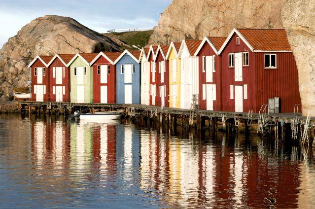 Voyage Balade le long de la côte ouest de la Suède
