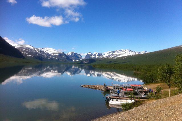 Fabuleux Pays et sommets sami, randonnée en Laponie VL27