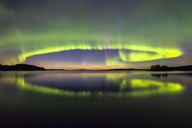Voyage Aventure d'automne en Laponie