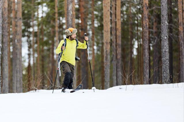 Ski de randonnée - Laponie - Suède
