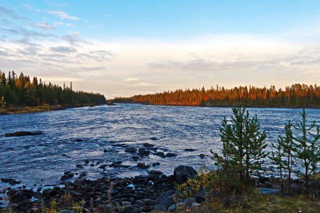 Île Pitkäsaari - Laponie - Suède