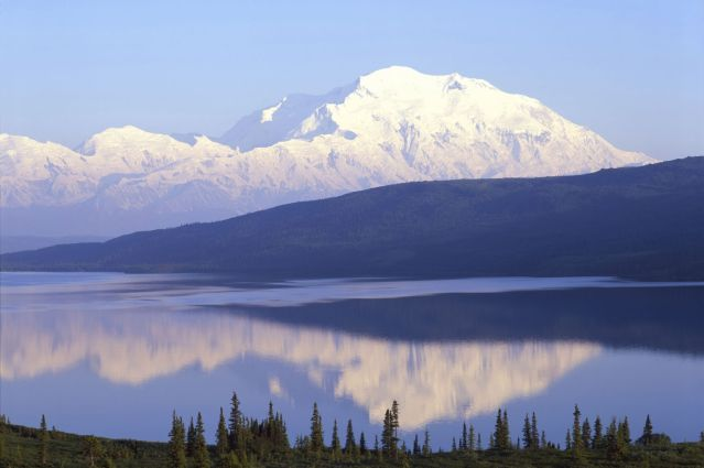 Mont McKinley - Denali National Park - Alaska - Etats-Unis