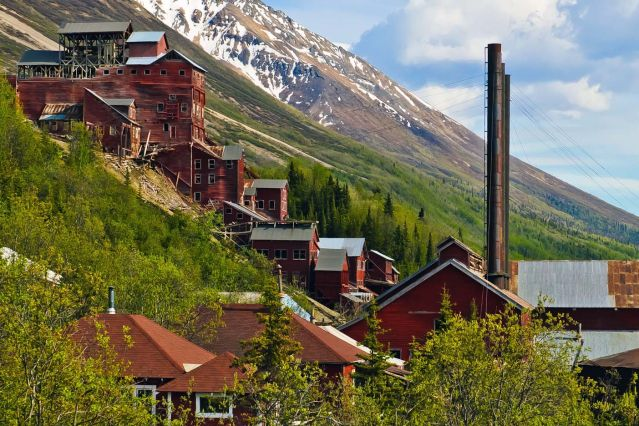 © L ancienne mine de Kennecott - McCarthy - Alaska - Etats-Unis - Bryan Petrtyl/nps.gov