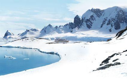 Boucle australe et cercle polaire antarctique