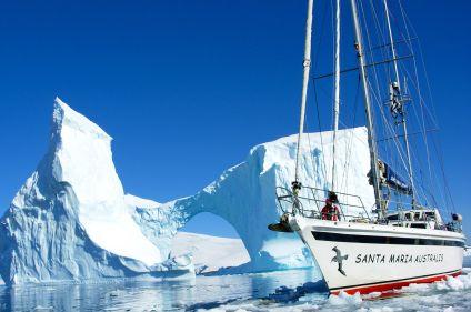 Voile expédition en péninsule Antarctique